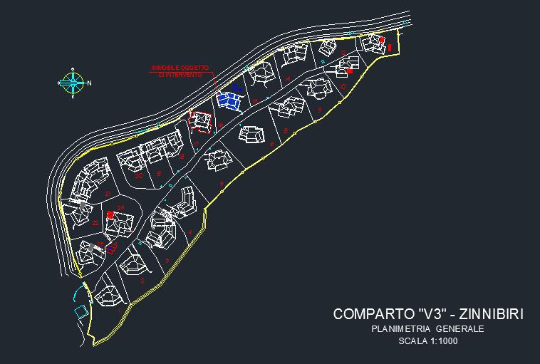 planimetria comparto zinnibiri